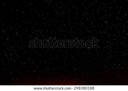 Night Sky Picture Darkness Planets and Stars #298380188