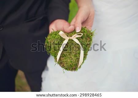 Pillow for wedding rings #298928465