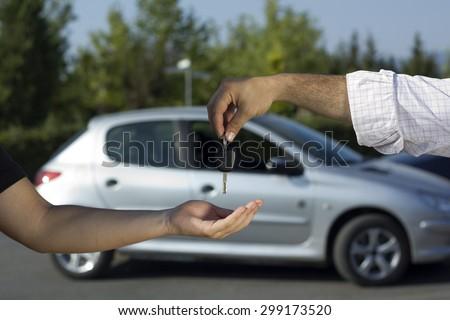 Car Key Royalty-Free Stock Photo #299173520