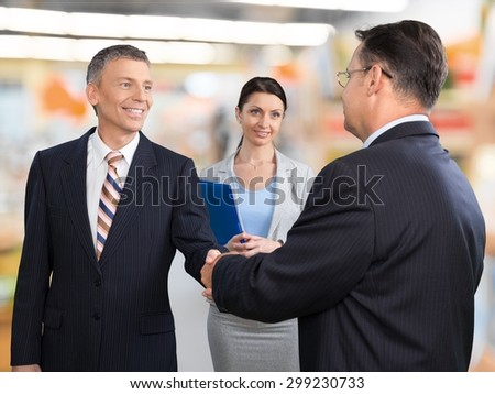 Interview, Job Interview, Handshake. #299230733