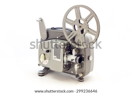 Projector for film video vintage #299236646