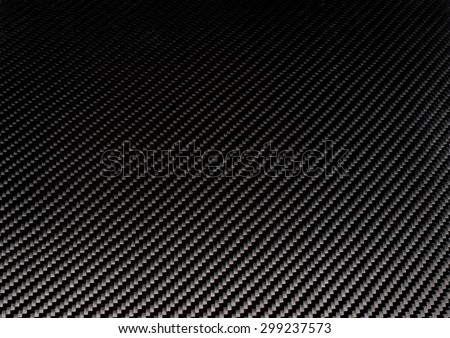 Woven carbon fiber sheet. Texture. Macro.
