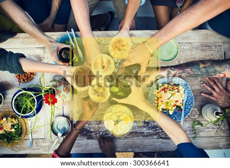 Copy Space Frame Summer Vacation Holiday Concept #300366641