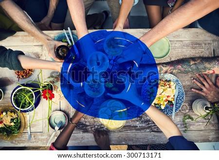 Vacation Summer Holidays Blue Marker COncept #300713171