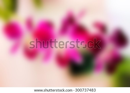 abstract Blurred orchid flower  Background  #300737483