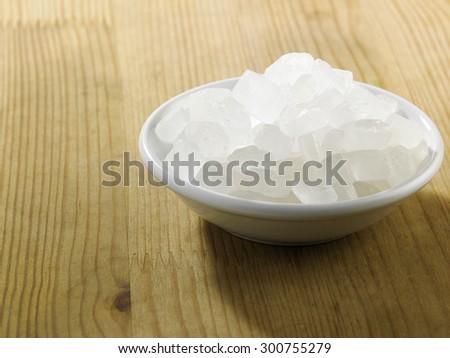 rock sugar in a saucer #300755279