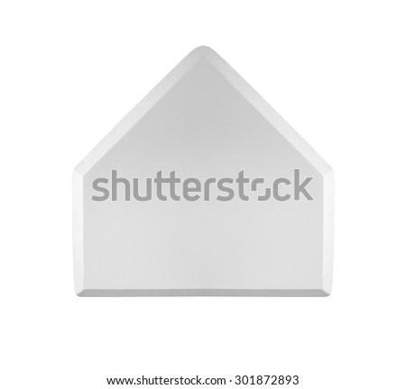 Baseball home base isolated on white #301872893
