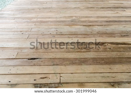 Wood Floor Texture Pattern #301999046