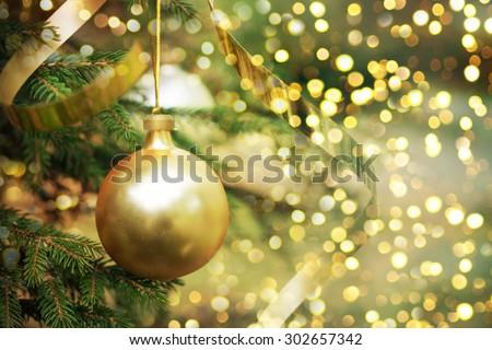Closeup of Christmas-tree #302657342