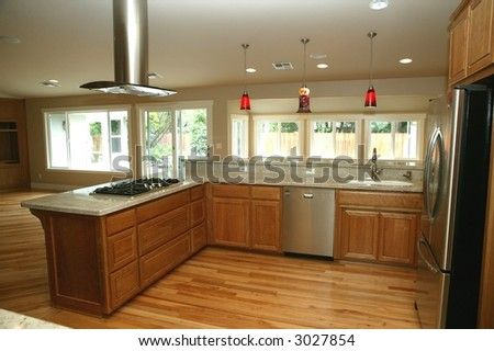 modern kitchen #3027854