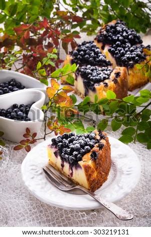 Cheesecake blueberries #303219131
