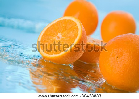 orange in water #30438883