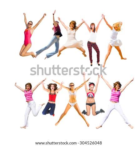 Success Concept People Celebrating  #304526048