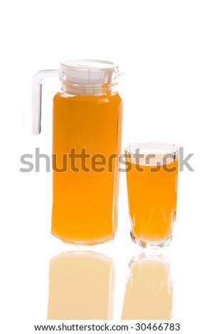 Orange juice isolated on white background #30466783