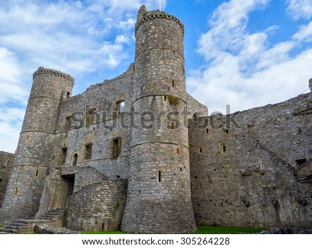 Harlech castle #305264228