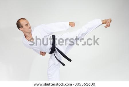 Young athlete beats kick Yoko geri #305561600