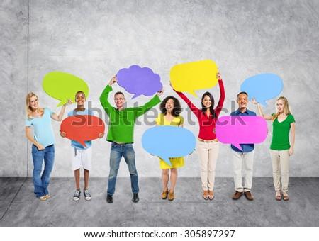 Diversity Ethnicity Global Community Communication People Concept #305897297