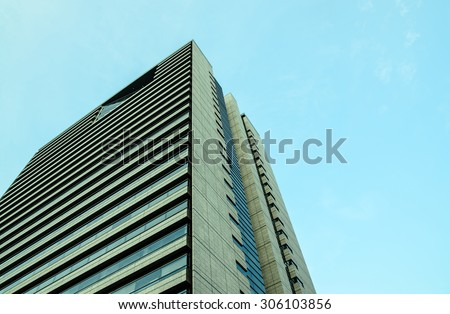 image o Building on afternoon with Blue Sky ,  see streetway come back my Home #306103856
