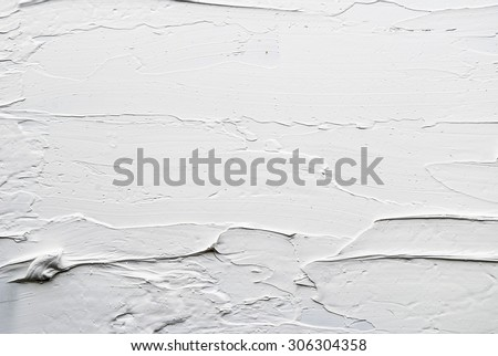 white and grey oil abstract background painting Royalty-Free Stock Photo #306304358