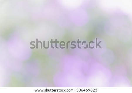 violet bokeh background from nature #306469823