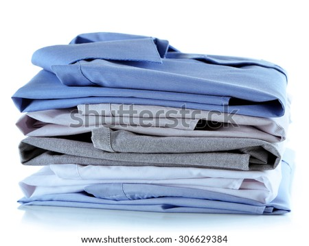 Business shirts, isolated on white #306629384