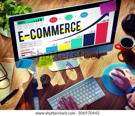 E-commerce Internet Global Marketing Purchasing Concept #306970442