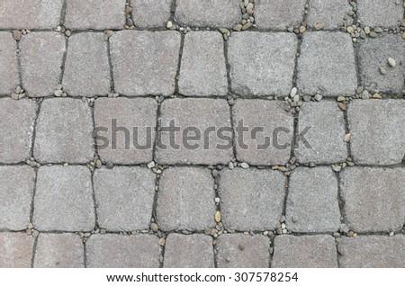 concrete pavement texture #307578254