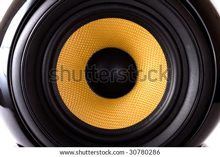 close up of speaker #30780286