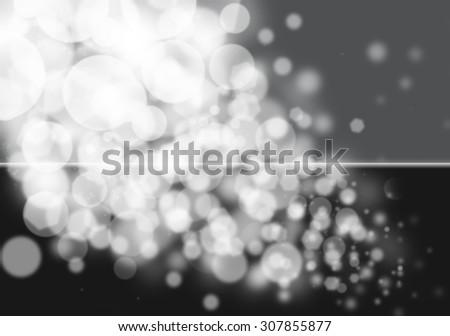 Dark bokeh glitter defocused lights abstract background #307855877