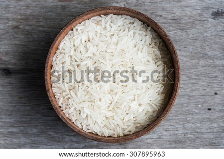 Rice in cup #307895963