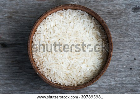 Rice in cup #307895981