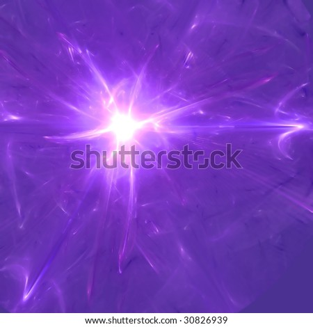Abstract background. Purple - white palette. Raster fractal graphics. #30826939