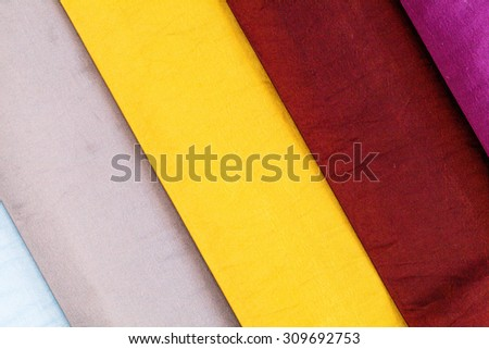 Background of textile texture. #309692753
