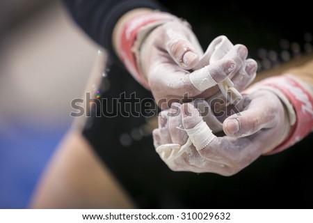 Magnesium of gymnastic