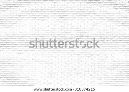 white brick wall #310374215