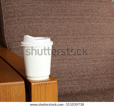 coffee cup in coffee shop #311039738