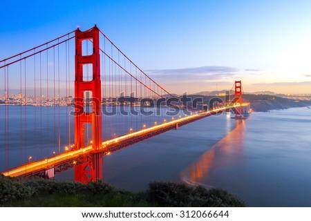 Golden Gate Bridge, San Francisco, California USA. #312066644