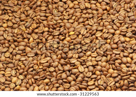 aromatic coffe beans #31229563