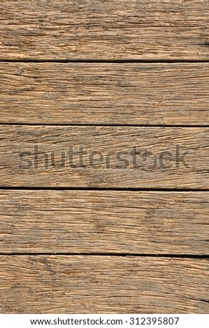 Old wooden board background #312395807