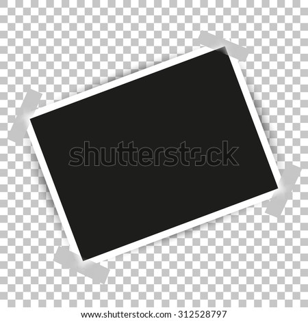 Photo Frame with shadow #312528797