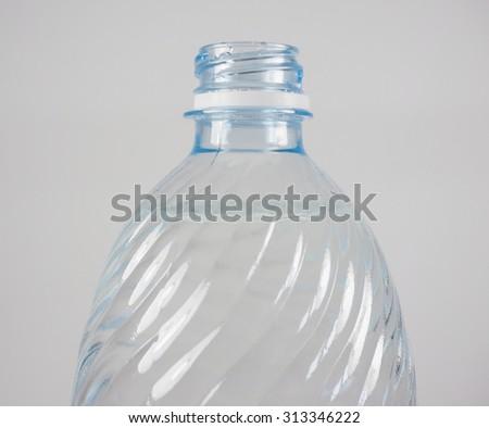 Plastic bottle of still or sparkling drinking water #313346222