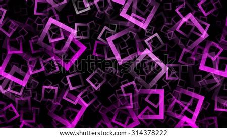 futuristic square background design illustration #314378222