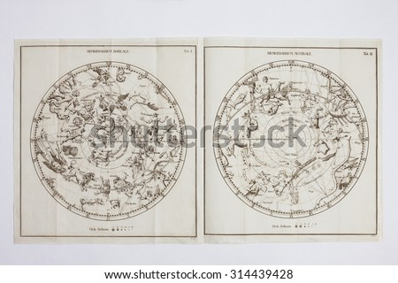 Celestial view of the antique #314439428