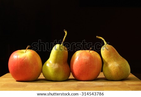 Apples and Pears together #314543786