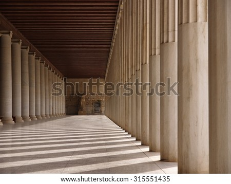The corridor in Athene #315551435