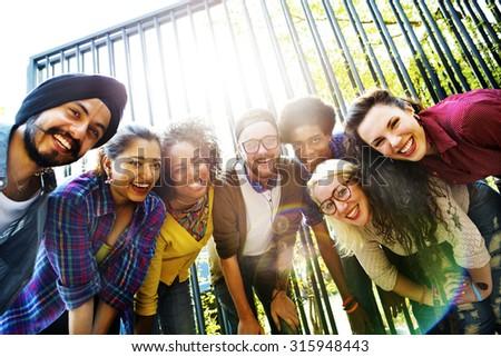 Bonding Community Friends Team Togetherness Unity Concept #315948443