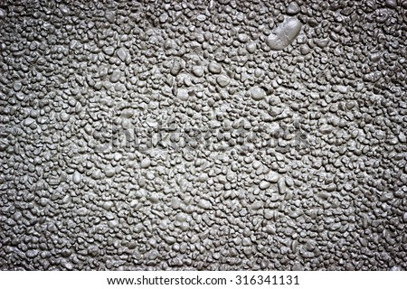 Grey gravel and concrete pattern wall background #316341131