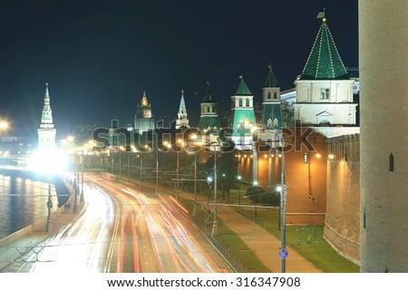 night city traffic lights #316347908
