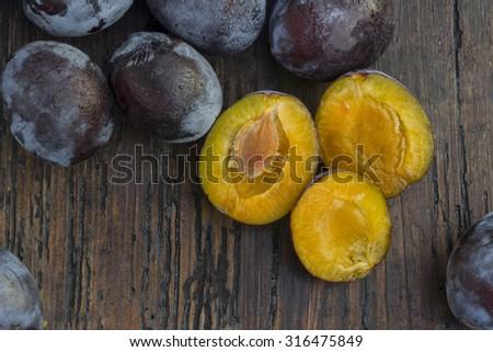 fresh plums #316475849