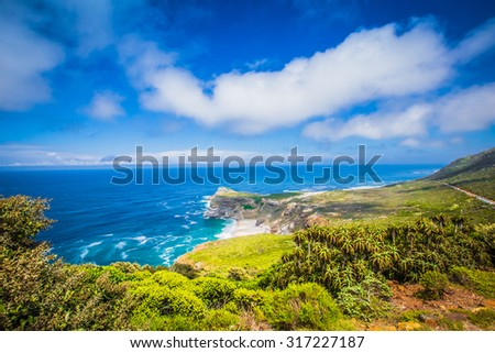 Landscapes of the Cape Point , South Africa #317227187